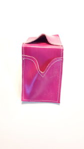 Pink Credit Card Leather Case