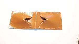 Brown Credit Card Leather Case