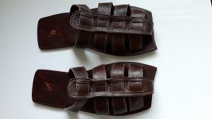 Men custom leather sandals