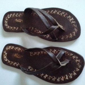 leather craft sandals