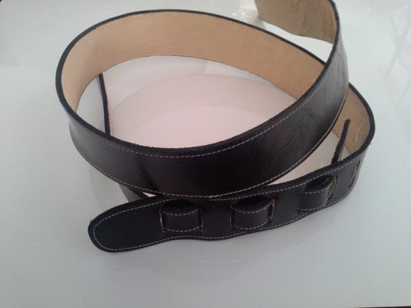 Leather gutiar strap