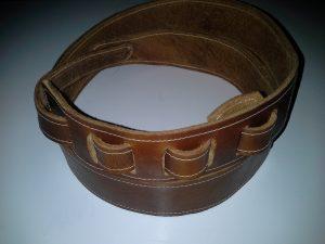 Leather gutiar strap