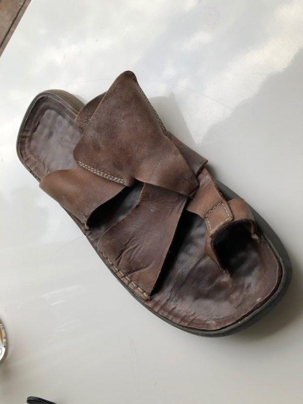 Custom Leather sandals