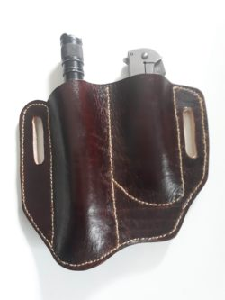 knife sheath with flashlight
