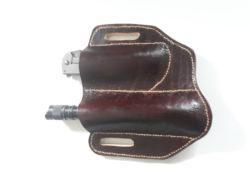 knife sheath with flashlight