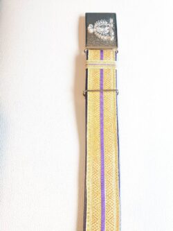 RCMP Leather Belt