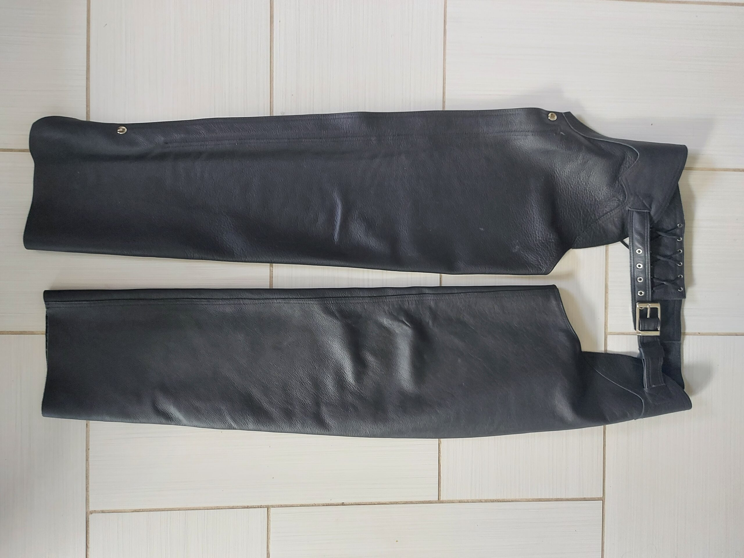 Leather Chaps Before